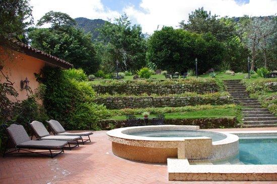 Casa de Lourdes: Casa Lourdes - Vista desde la mesa donde estabamos sentados
