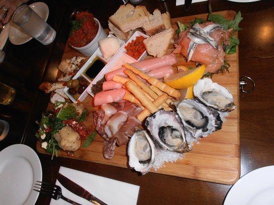 Sorrento Restaurant and Bar: biggest antipasto in the world