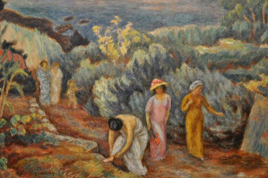 National Museum : Painting in the museum