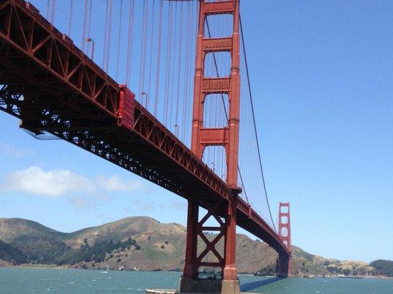 San Francisco Movie Tours : Golden Gate Bridge