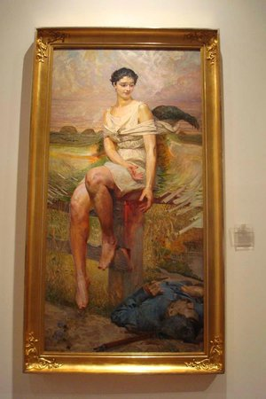 National Museum : Nike of the Legions by Jacek Malczewski