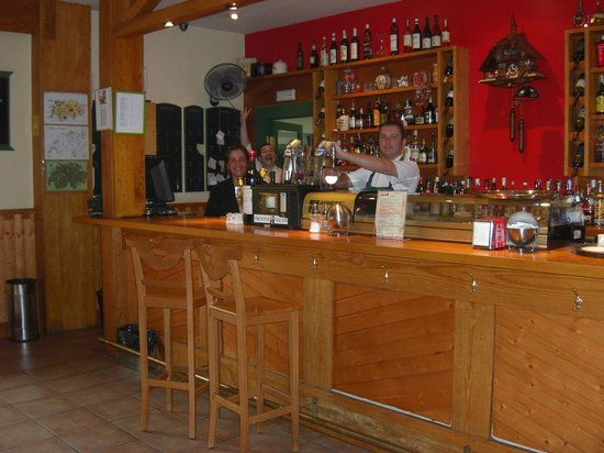 El Chalet Suizo: The bar