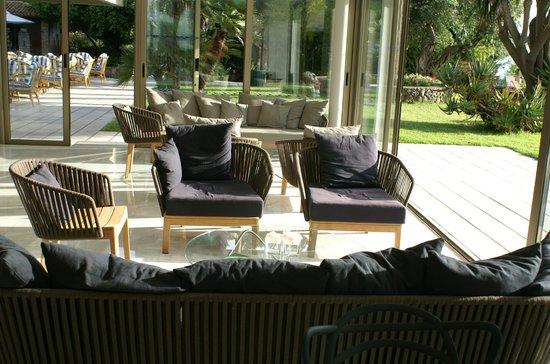 Kontokali Bay Resort and Spa : un des salons