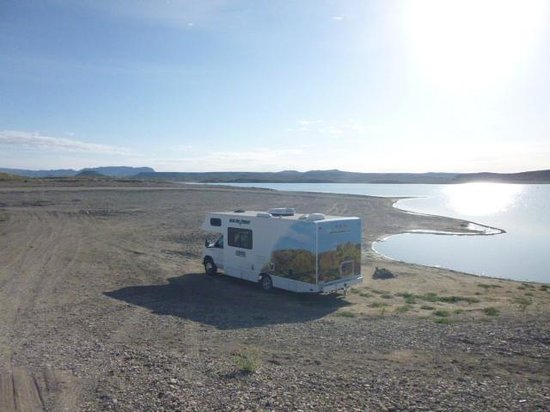 Elephant Butte Lake State Park: On the Beach at Elephant Butte State Park