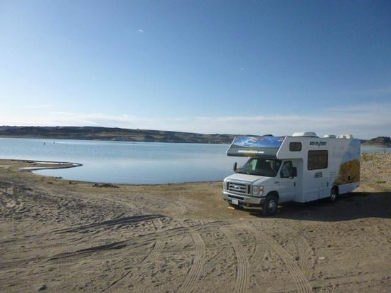 Elephant Butte Lake State Park: On the Beach