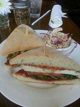 Ladyface Alehouse & Brasserie: wood grilled chicken sandwich