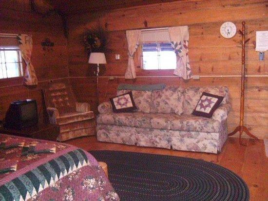 Grapevine Log Cabins: Little House on the Prairie