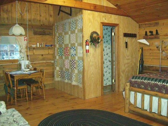 Grapevine Log Cabins: Little House on the Prairie