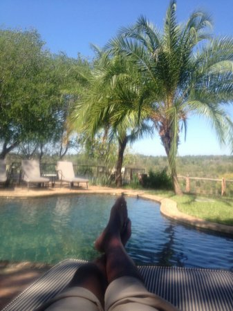 Chilo Gorge Safari Lodge: Chilling by the pool