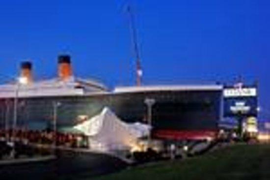 Exterior shot of Titanic Museum Attraction Branson, Mo.