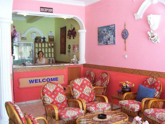 Star Apart Otel: Reception