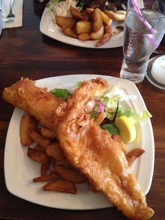The Sun Inn: whale on a plate-sooooooo good!