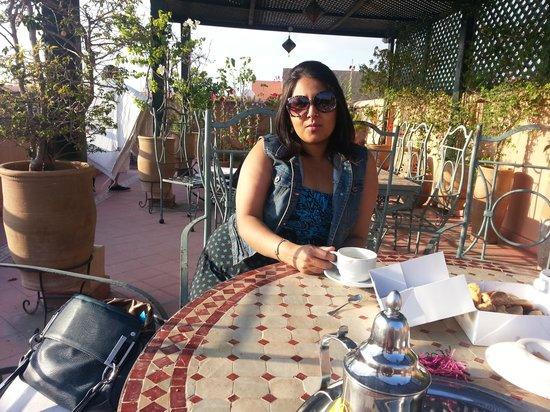 Riad Dar Dialkoum: relaxing