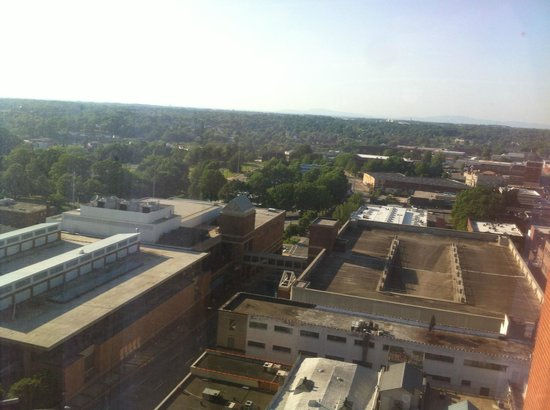 Winston-Salem Marriott : View from room