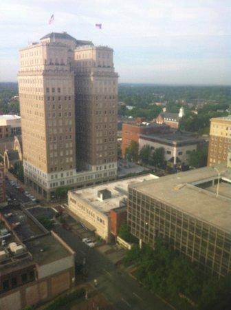 Winston-Salem Marriott : View from hotel