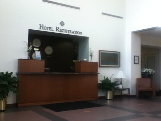 Haworth Inn & Conference Center : recepcion