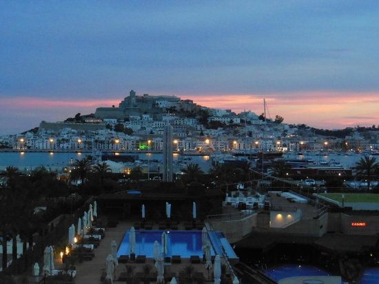 Ibiza Gran Hotel : view from our balcony