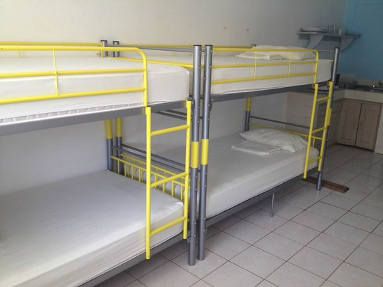 Blue Trailz Hostel & Surf Camp: Our new bunkbeds in the dorm