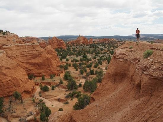 Kodachrome Basin State Park: View from Trail