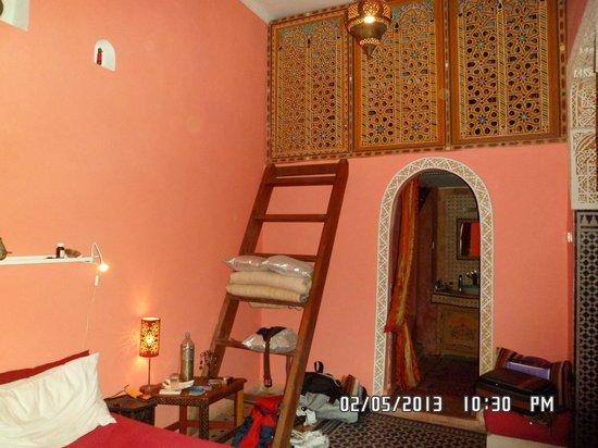 Riad Safir : Double Bedroom with Mezzanine