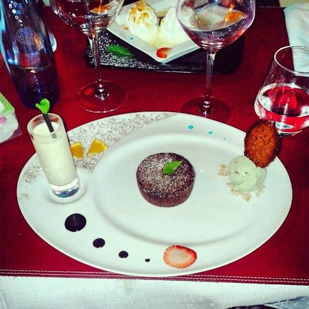 Au Petit Mareyeur: Amazing dessert