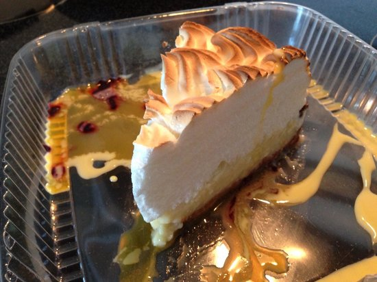 Rusty's Surf & Turf : Rusty's mile high key lime pie!