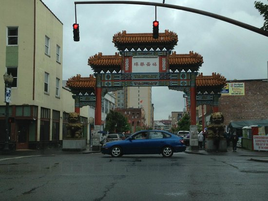 Chinatown Gate: Portland Oregon Chinatown Arch
