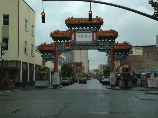 Chinatown Gate: Chinatown Portland Oregon