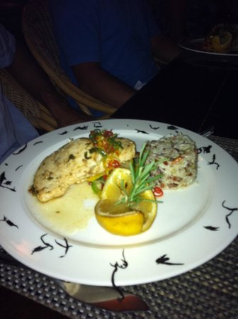 Hacienda del Mar Los Cabos: Wonderful meal