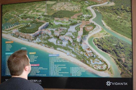 The Grand Mayan at Vidanta Nuevo Vallarta: Map of the resort