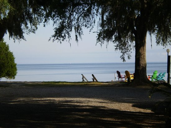 View From Campsite Picture Of Bay Breeze Rv Park Gulf
