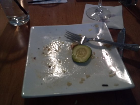 Timberline Steaks & Grille: The Salmon was so good I couldn't get a photo fast enough ...