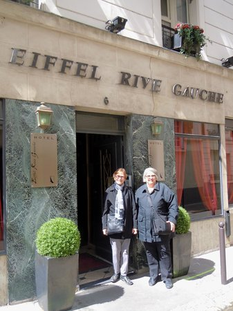 ไอเฟลรีฟกูช: Here we are in Paris at the Eiffel Rive Gauche