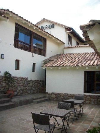La Morada: Terraza