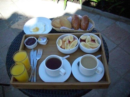 La Morada: El desayuno