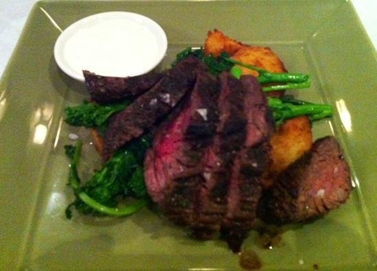 Oasis Cafe : skirt steak