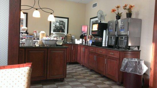 Best Western Delta Inn: Breakfast Nook