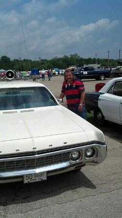 Adamsville, TN: Me ( Ricky ) with Buford's Police Car
