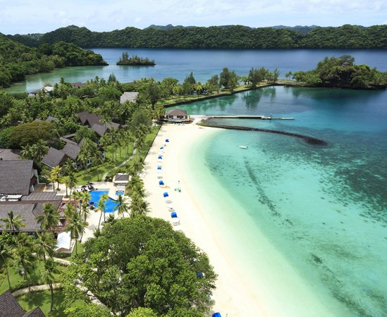 Palau Pacific Resort: Seaside