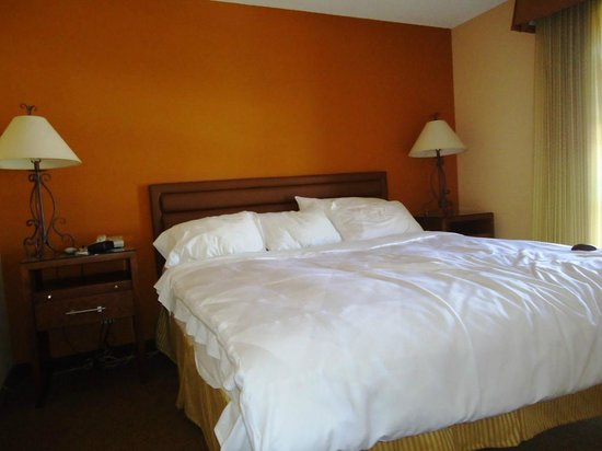 Radisson Suites Tucson: The bedroom is amazingly comfortable