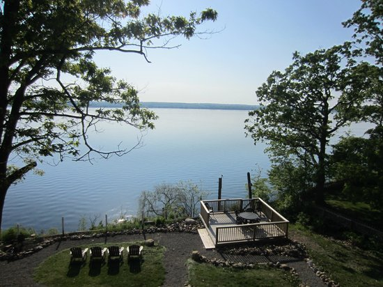 Paradise on the Lake Bed and Breakfast: View from the upper deck