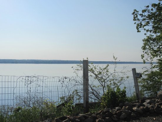 Paradise on the Lake Bed and Breakfast: View from the lower deck