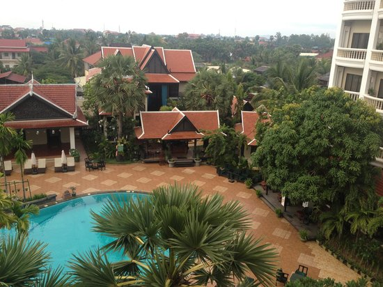 Borei Angkor Resort & Spa: view from the room