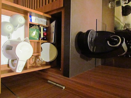 Hotel Fort Canning: Complimentray Nespresso