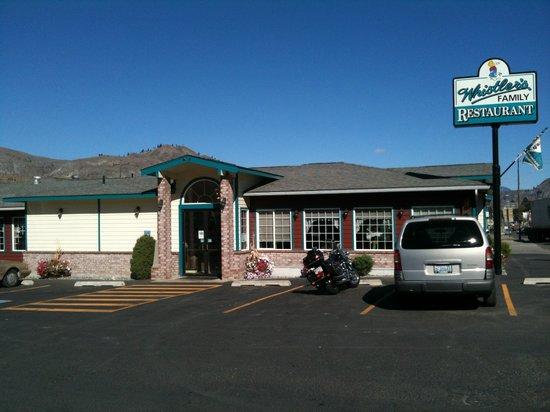 Whistler's Family Restaurant, Tonasket, Wa