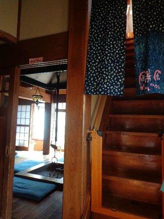Kamakura Guesthouse: stairs