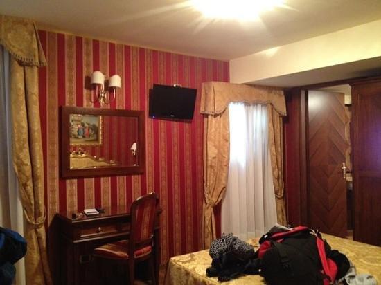 Hotel Citta di Milano: habitacion