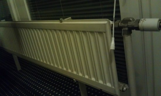 Austria Trend Hotel Lassalle Wien: Old, clunky heating system