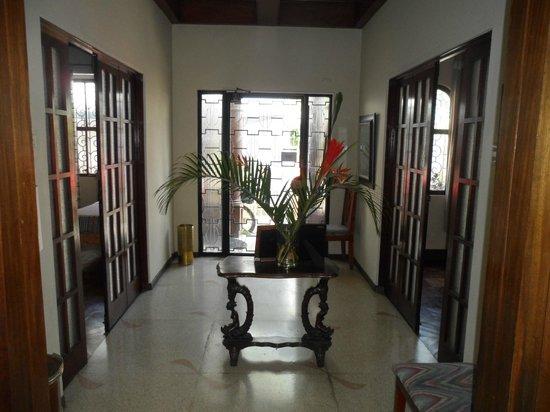 Hostel Casa Del Parque: Hall de recepción