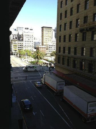 The Inn at Union Square - A Greystone Hotel: The view from my lounge